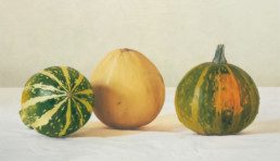 Pumpkins III, 2002, OOC, 20 x 35 in