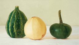 Pumpkins II, 2001, OOC, 20 x 35 in