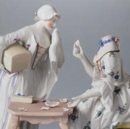 The dismissed maid, 2020, Oil on canvas, 90 x 90 cm