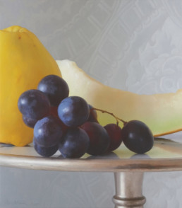 Three Fruits, 2015, OOC, 33 x 28 in