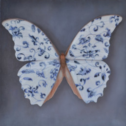 Verbotene Symmetrie, 2019, OOC, 40 x 40 cm