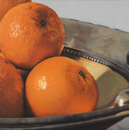 Oranges II, 2003, OOC, 16 x 16 in